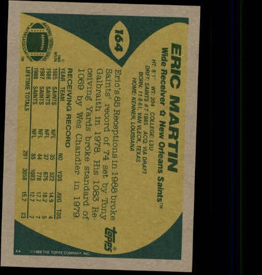 1989-Topps-Football-Card-Pick-2-249 thumbnail 257