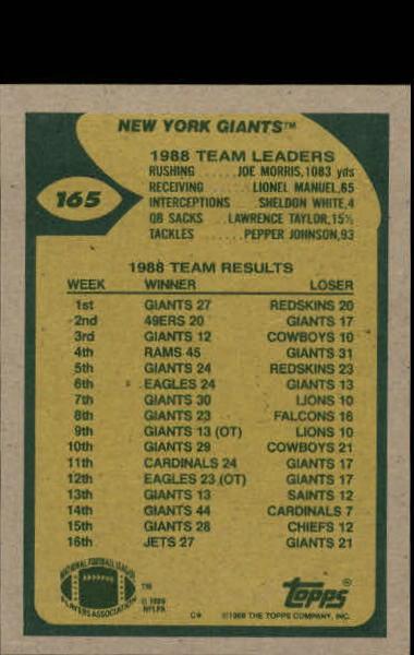 1989-Topps-Football-Card-Pick-2-249 thumbnail 259