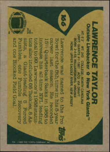 1989-Topps-Football-Card-Pick-2-249 thumbnail 261