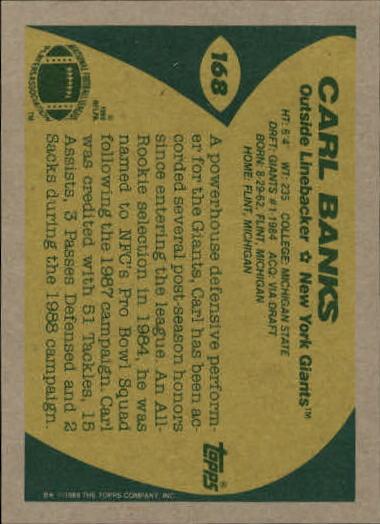1989-Topps-Football-Card-Pick-2-249 thumbnail 265