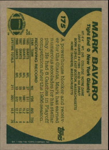 1989-Topps-Football-Card-Pick-2-249 thumbnail 279