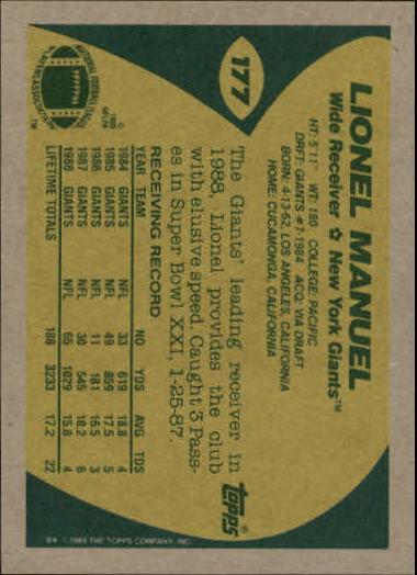 1989-Topps-Football-Card-Pick-2-249 thumbnail 281