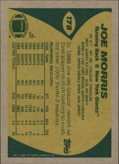 1989-Topps-Football-Card-Pick-2-249 thumbnail 283