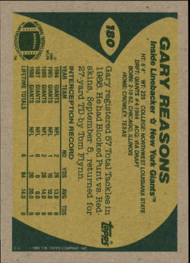 1989-Topps-Football-Card-Pick-2-249 thumbnail 285