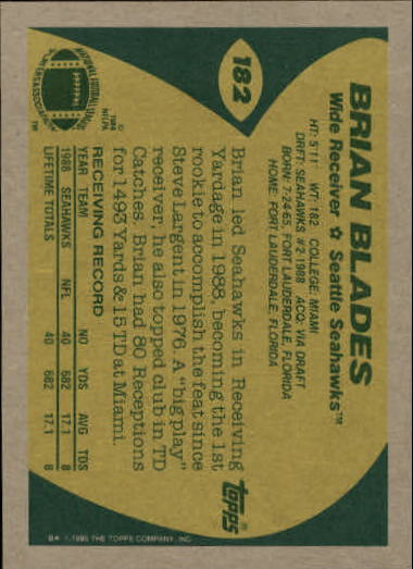1989-Topps-Football-Card-Pick-2-249 thumbnail 289