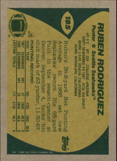 1989-Topps-Football-Card-Pick-2-249 thumbnail 293