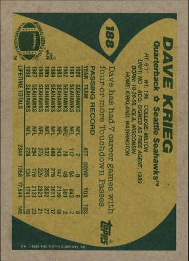 1989-Topps-Football-Card-Pick-2-249 thumbnail 299