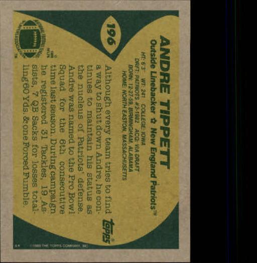 1989-Topps-Football-Card-Pick-2-249 thumbnail 311