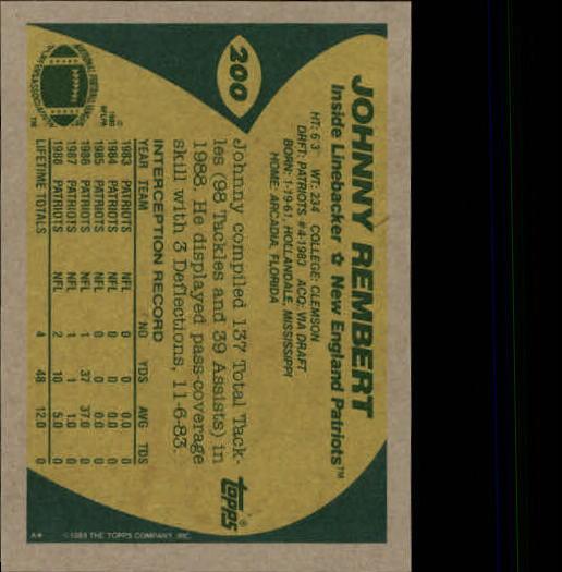 1989-Topps-Football-Card-Pick-2-249 thumbnail 317