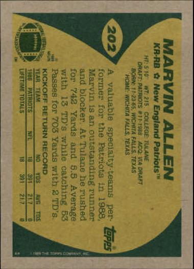 1989-Topps-Football-Card-Pick-2-249 thumbnail 321
