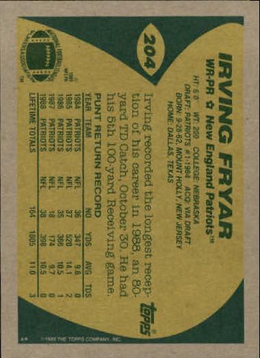 1989-Topps-Football-Card-Pick-2-249 thumbnail 323