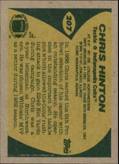 1989-Topps-Football-Card-Pick-2-249 thumbnail 329