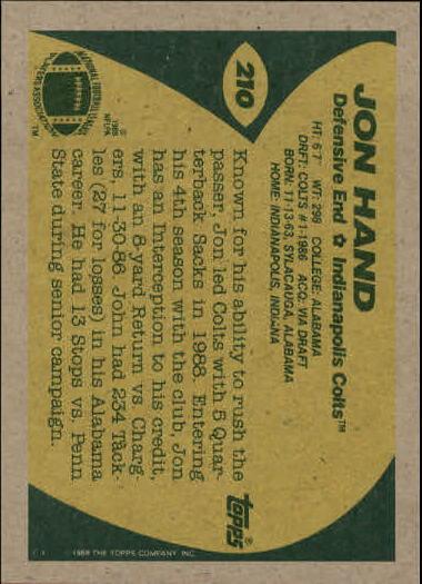 1989-Topps-Football-Card-Pick-2-249 thumbnail 335