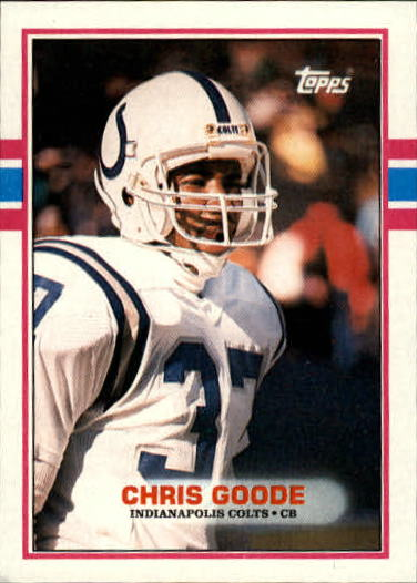 1989 Topps #214 Chris Goode RC