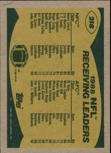 1989-Topps-Football-Card-Pick-2-249 thumbnail 351