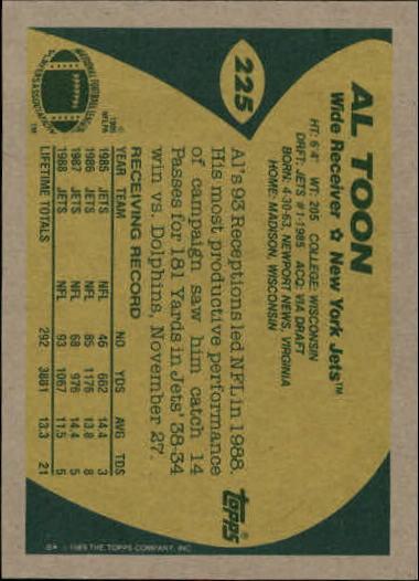 1989-Topps-Football-Card-Pick-2-249 thumbnail 363