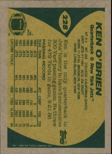 1989-Topps-Football-Card-Pick-2-249 thumbnail 367