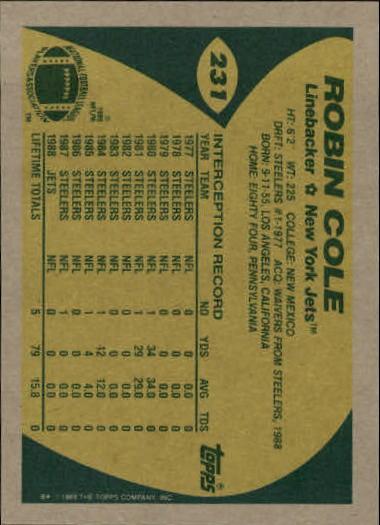 1989-Topps-Football-Card-Pick-2-249 thumbnail 373