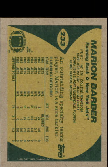 1989-Topps-Football-Card-Pick-2-249 thumbnail 375