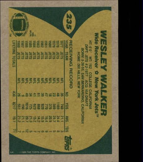 1989-Topps-Football-Card-Pick-2-249 thumbnail 379