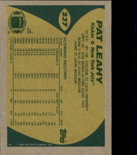 1989-Topps-Football-Card-Pick-2-249 thumbnail 383
