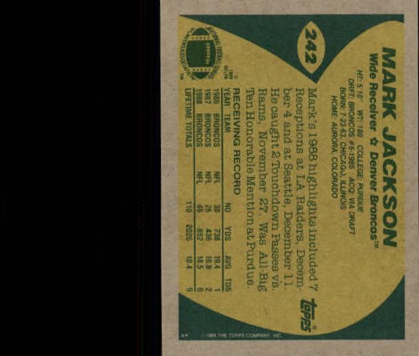 1989-Topps-Football-Card-Pick-2-249 thumbnail 389
