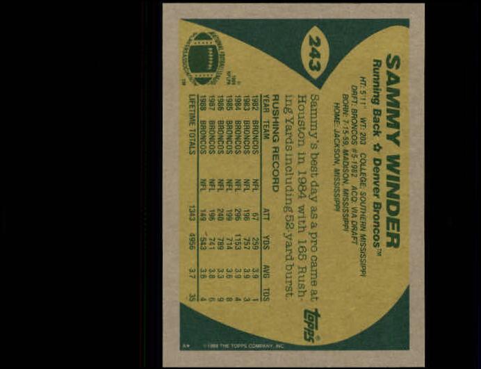 1989-Topps-Football-Card-Pick-2-249 thumbnail 391