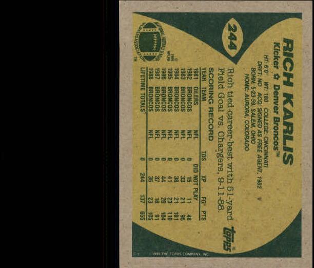 1989-Topps-Football-Card-Pick-2-249 thumbnail 393
