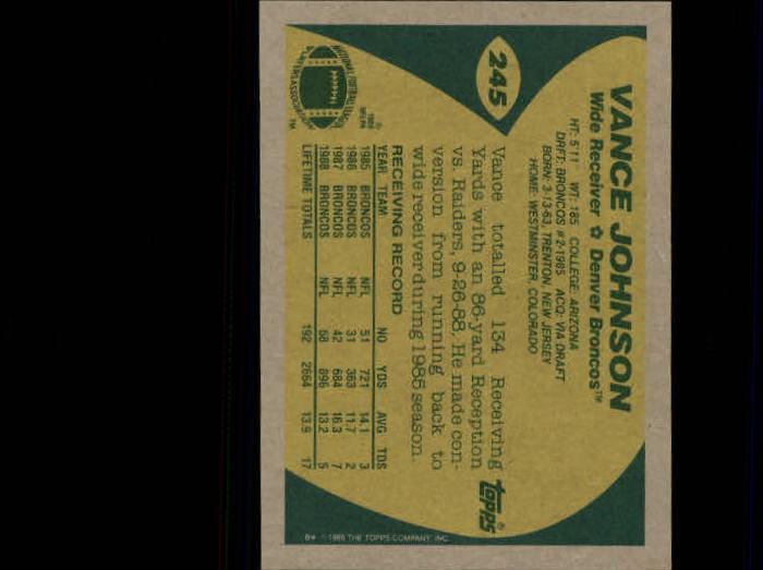 1989-Topps-Football-Card-Pick-2-249 thumbnail 395