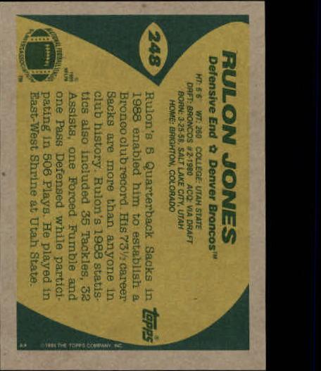 1989-Topps-Football-Card-Pick-2-249 thumbnail 397