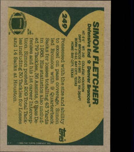 1989-Topps-Football-Card-Pick-2-249 thumbnail 399