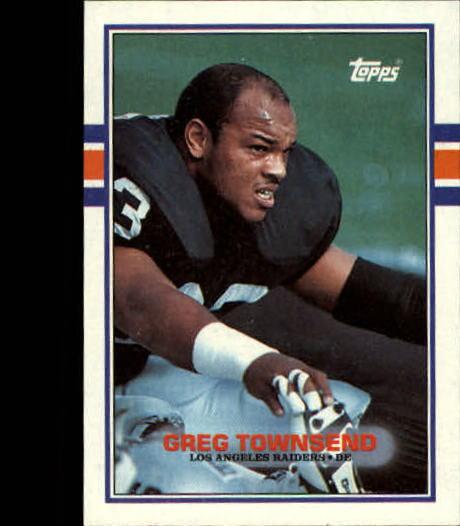 1989 Topps #274 Greg Townsend