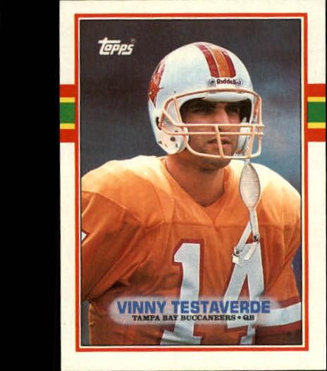 1989 Topps #327 Vinny Testaverde