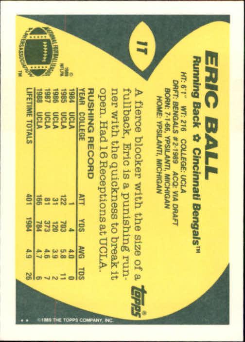 1989-Topps-Traded-Football-Card-Pick thumbnail 3