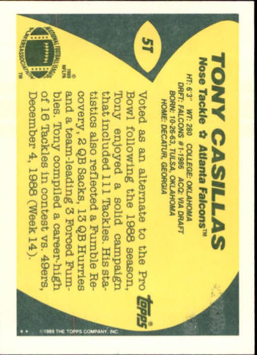 1989-Topps-Traded-Football-Card-Pick thumbnail 9