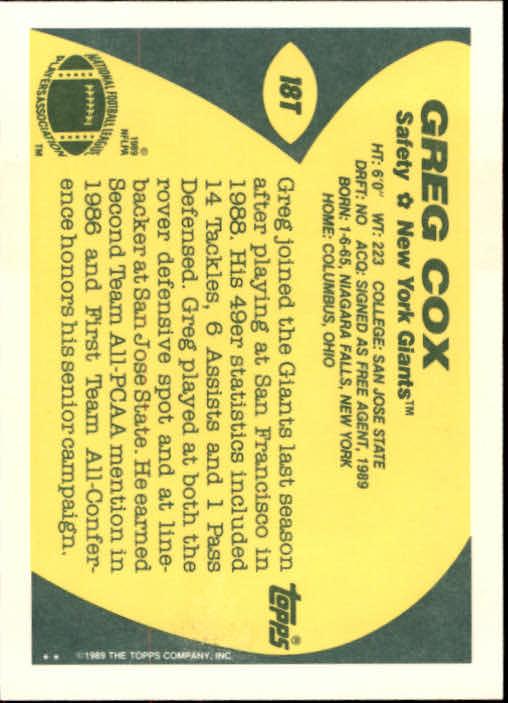 1989-Topps-Traded-Football-Card-Pick thumbnail 27