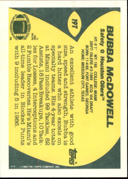 1989-Topps-Traded-Football-Card-Pick thumbnail 29