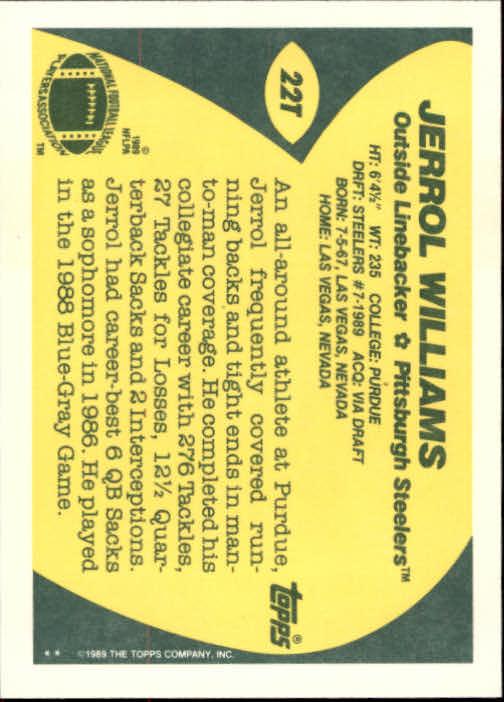 1989-Topps-Traded-Football-Card-Pick thumbnail 33