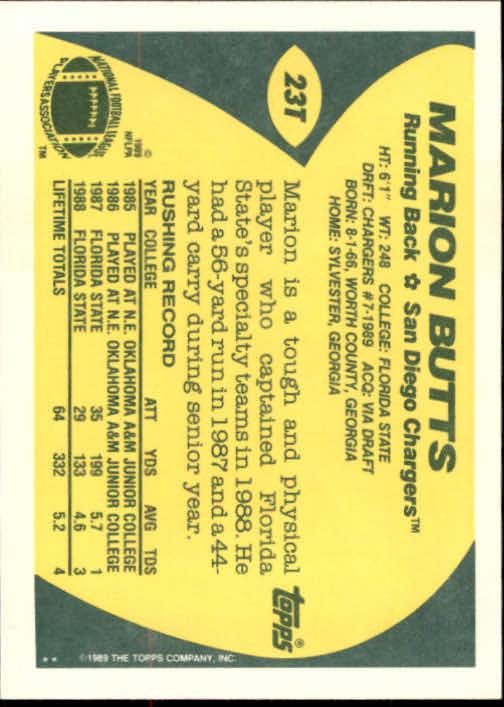 1989-Topps-Traded-Football-Card-Pick thumbnail 35
