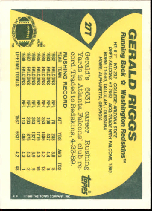 1989-Topps-Traded-Football-Card-Pick thumbnail 41