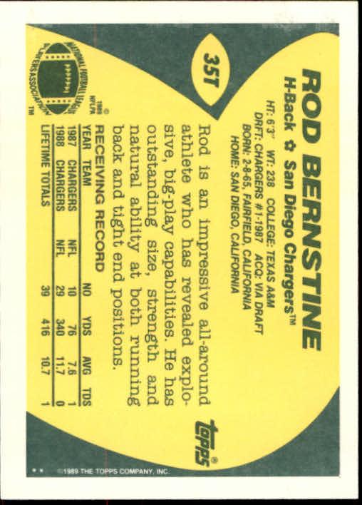 1989-Topps-Traded-Football-Card-Pick thumbnail 53