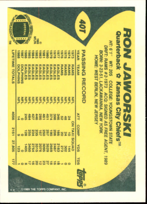 1989-Topps-Traded-Football-Card-Pick thumbnail 63