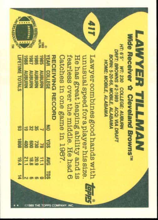 1989-Topps-Traded-Football-Card-Pick thumbnail 65
