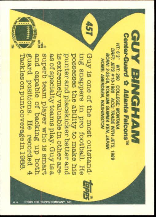 1989-Topps-Traded-Football-Card-Pick thumbnail 73