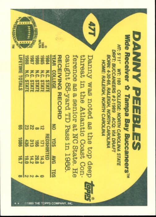 1989-Topps-Traded-Football-Card-Pick thumbnail 77
