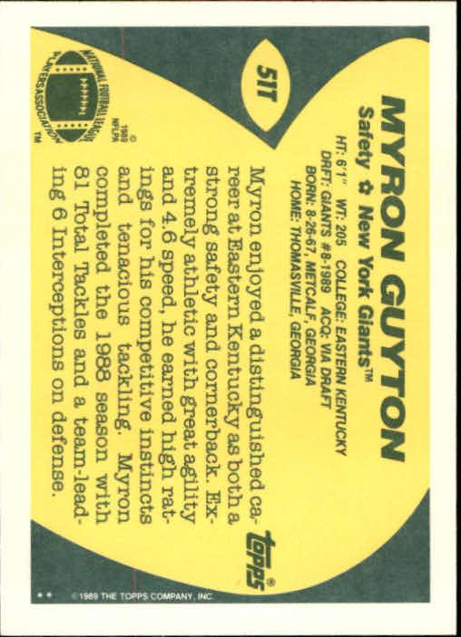 1989-Topps-Traded-Football-Card-Pick thumbnail 83