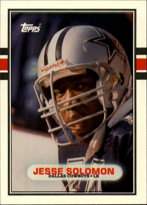 1989 Topps Traded #57T Jesse Solomon