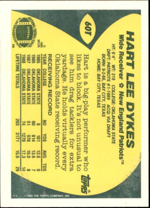 1989-Topps-Traded-Football-Card-Pick thumbnail 93