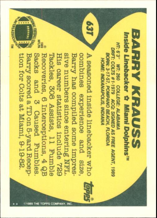 1989-Topps-Traded-Football-Card-Pick thumbnail 99