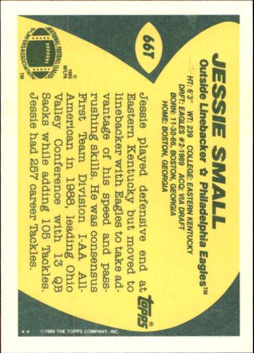 1989-Topps-Traded-Football-Card-Pick thumbnail 103